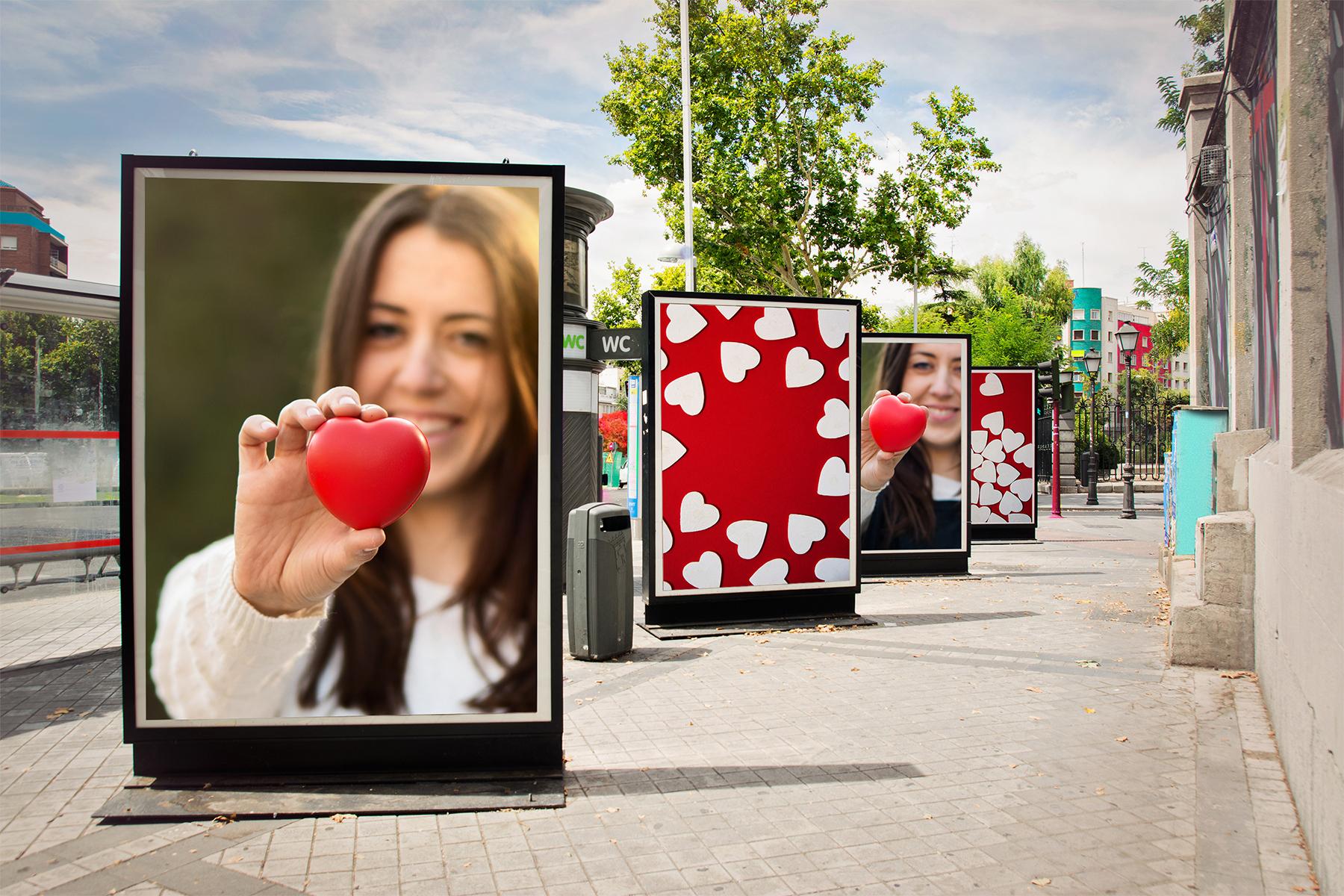 Seristampa pubblicità